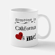 Someone in California Small Small Mug