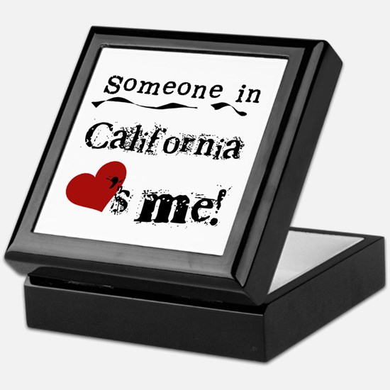 Someone in California Keepsake Box