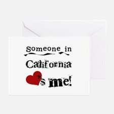 Someone in California Greeting Cards (Pk of 10)