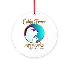 CABIN FEVER ARTWORKS Ornament (Round)