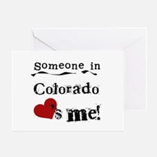 Someone in Colorado Greeting Card