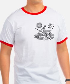 Masonic Square and Compass T