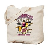 Drums Canvas Tote Bag