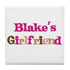 Blake's Girlfriend Tile Coaster