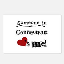 Someone in Connecticut Postcards (Package of 8)
