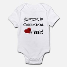 Someone in Connecticut Infant Bodysuit