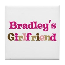 Bradley's Girlfriend Tile Coaster