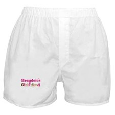 Brayden's Girlfriend Boxer Shorts