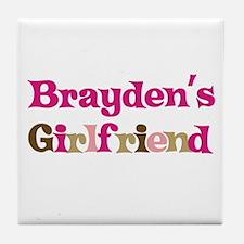 Brayden's Girlfriend Tile Coaster