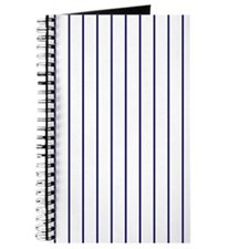 Pinstriped Journal