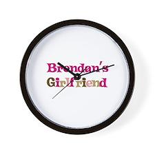 Brendan's Girlfriend Wall Clock