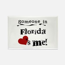 Someone in Florida Rectangle Magnet