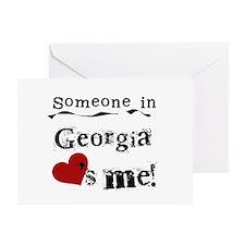 Someone in Georgia Greeting Card