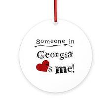 Someone in Georgia Ornament (Round)