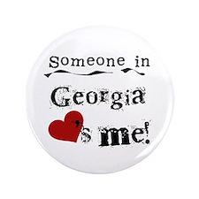 """Someone in Georgia 3.5"""" Button"""