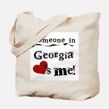 Someone in Georgia Tote Bag