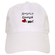 Someone in Georgia Baseball Cap
