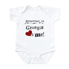 Someone in Georgia Infant Bodysuit