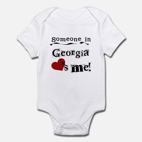 Someone in Georgia Infant Bodysuit