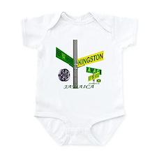 REP JAMAICA RIM Infant Bodysuit