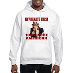 Hyphenate THIS! Angry American Hooded Sweatshirt
