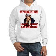 Hyphenate THIS! Angry American Hoodie