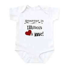 Someone in Illinois Infant Bodysuit