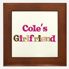 Cole's Girlfriend Framed Tile