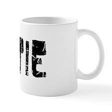 Gertie Faded (Black) Mug