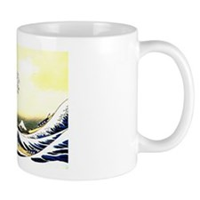 Hokusai's Great Wave Japanese print Mug