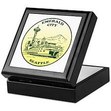 Emerald City Seattle Keepsake Box