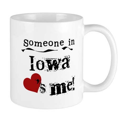 Someone in Iowa Mug