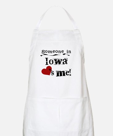 Someone in Iowa BBQ Apron