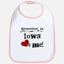 Someone in Iowa Bib