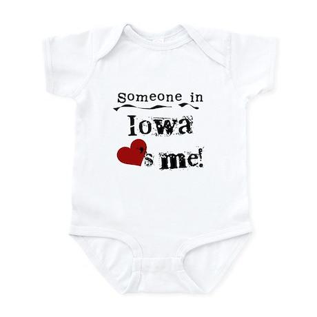 Someone in Iowa Infant Bodysuit