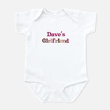 Dave's Girlfriend Infant Bodysuit