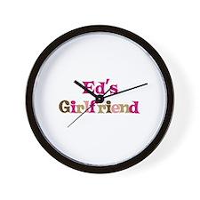 Ed's Girlfriend Wall Clock