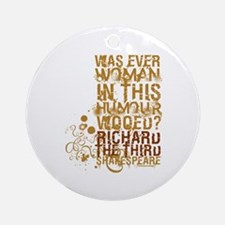 Richard III Ornament (Round)