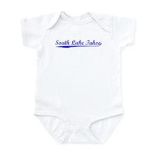 Vintage South Lake.. (Blue) Infant Bodysuit