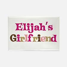 Elijah's Girlfriend Rectangle Magnet (10 pack)