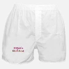 Elijah's Girlfriend Boxer Shorts