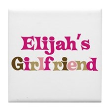 Elijah's Girlfriend Tile Coaster
