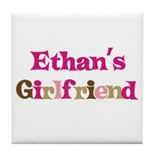 Ethan's Girlfriend Tile Coaster