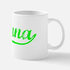 Vintage Santana (Green) Small Small Mug