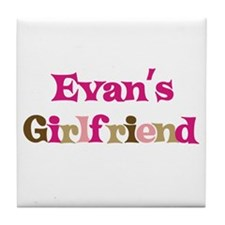 Evan's Girlfriend Tile Coaster