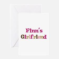 Finn's Girlfriend Greeting Card