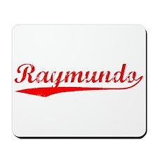 Vintage Raymundo (Red) Mousepad