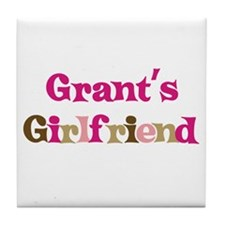 Grant's Girlfriend Tile Coaster