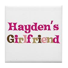 Hayden's Girlfriend Tile Coaster