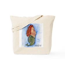 Chubby Mermaid Tote Bag